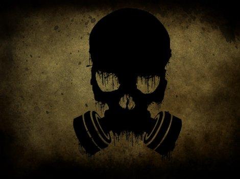 gas mask skull