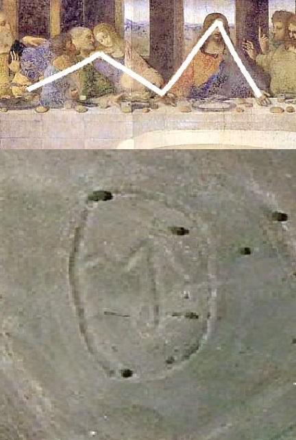 macedonian geoglyph da vinci cassiopeia