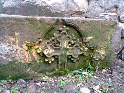 Sveti Nikola krst star kamen